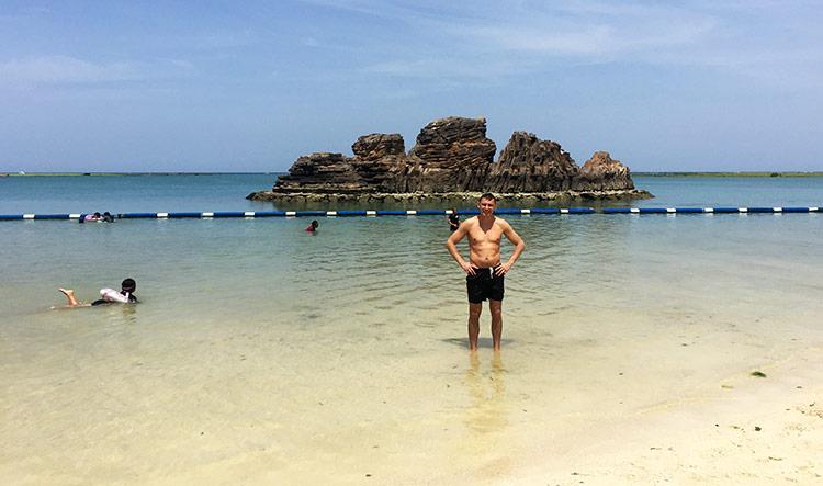 Лучшие пляжи Окинавы, Япония: Араха Бич.
