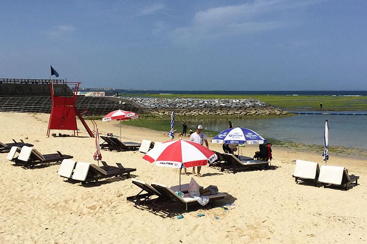 Лучшие пляжи Окинавы: Сансет бич.