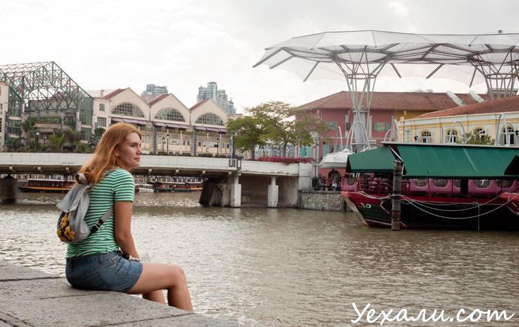 Сингапур, фото Clarke Quay.