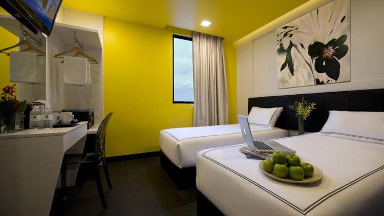 Недорогие отели Сингапура. Venue Hotel.