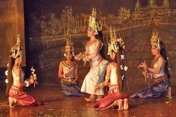 Танец Апсара, Камбоджа.