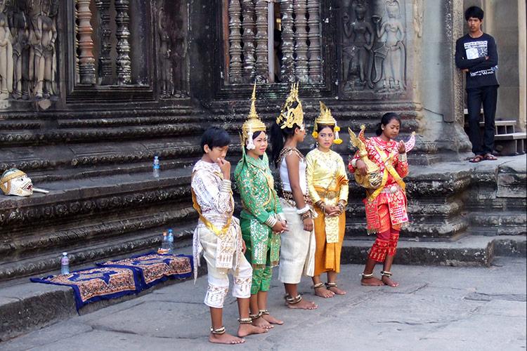 Храмовый комплекс Ангкор Ват, Камбоджа.