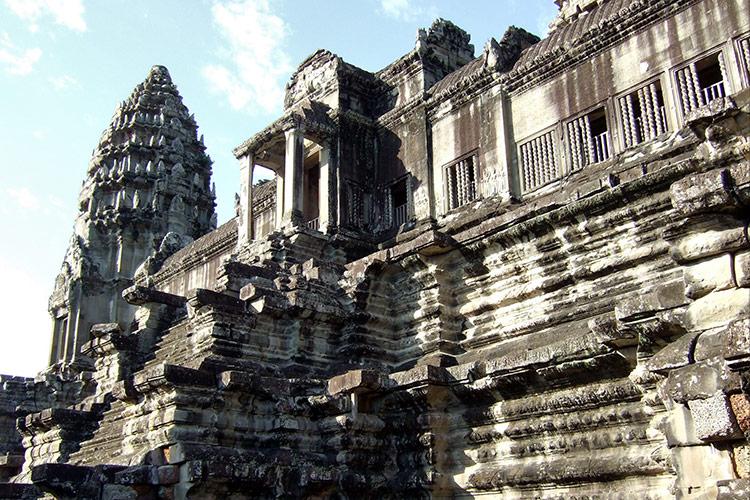 Храмовый комплекс Ангкор Ват.