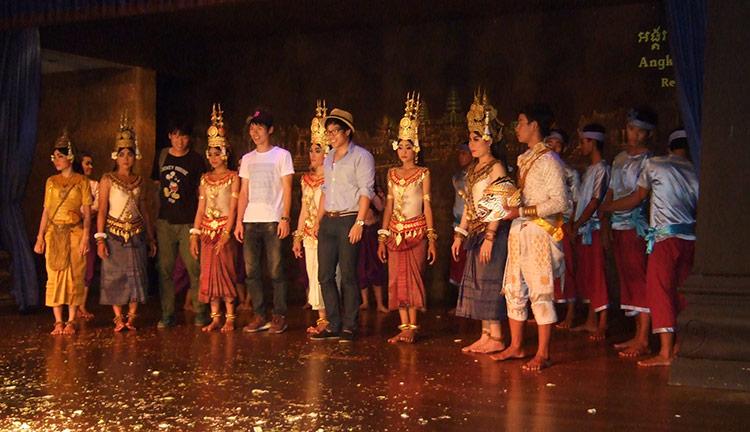Камбоджа, фольклорное шоу Апсара.
