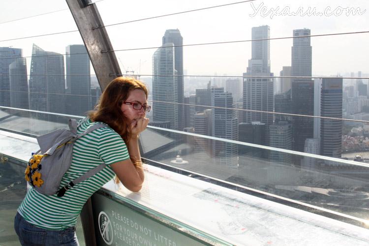 Запреты и штрафы в Сингапуре, фото в отеле Marina Bay Sands