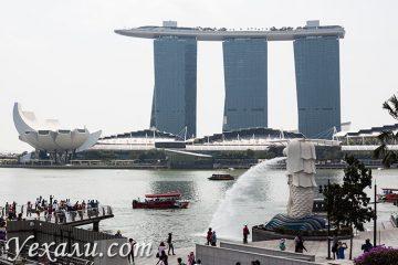 Что посмотреть в Сингапуре за 2 дня: залив Марина Бэй и Мерлайон