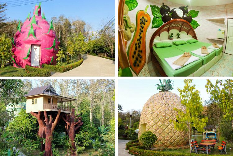 Фруктовый рай на реке Квай, отель Baan PhaSawan.