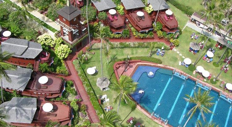 Самые необычные отели Таиланда: Imperial Boat House, Самуи.