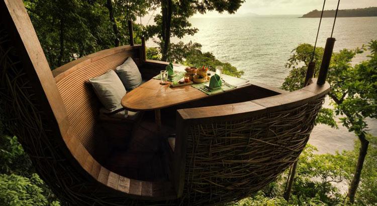 Самые необычные отели Тайланда: Soneva Kiri, остров Ко Куд.