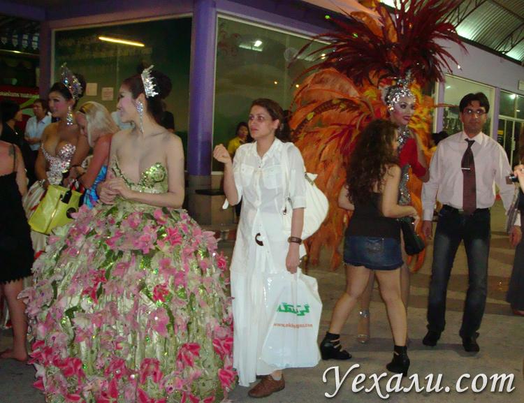 Трансвеститы в Таиланде.