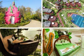 Самые необычные отели Таиланда.