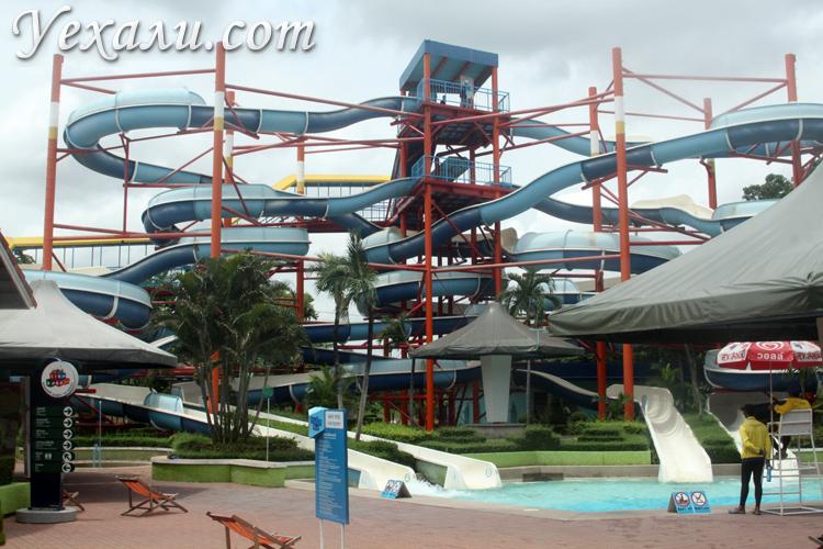 Фото аквапарка в Сиам Парке в Бангкоке