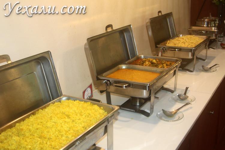 Обед в Сиам Парке