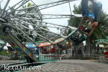 Карусели в Сиам Парке, лучшие аттракционы