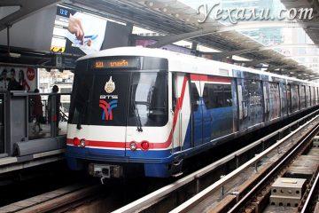 Метро Бангкока, Таиланд, станция Sala Daeng.