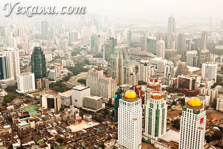 Чем заняться в Бангкоке: посмотреть город с высоты птичьего полета