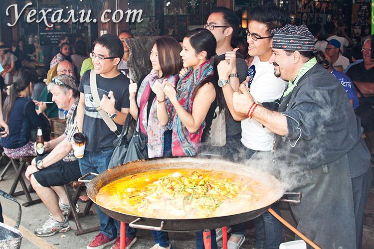 Фото рынка Чатучак в Бангкоке, Таиланд