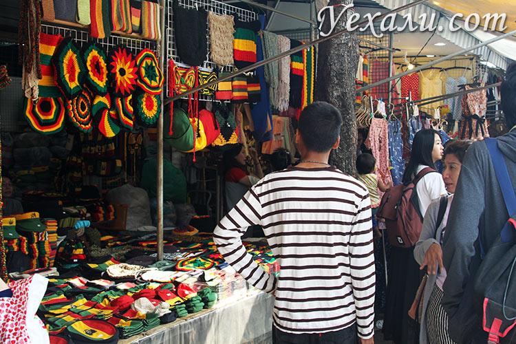 Фото рынка Чатучак в Бангкоке, Тайланд