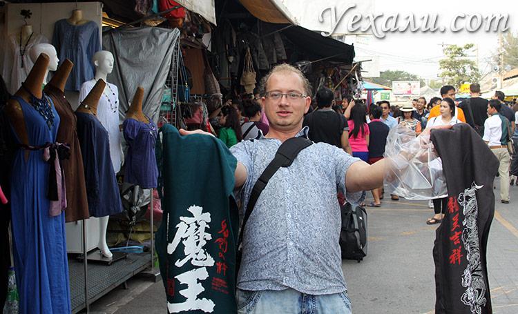 Фото рынка Чатучак, Бангкок, Таиланд