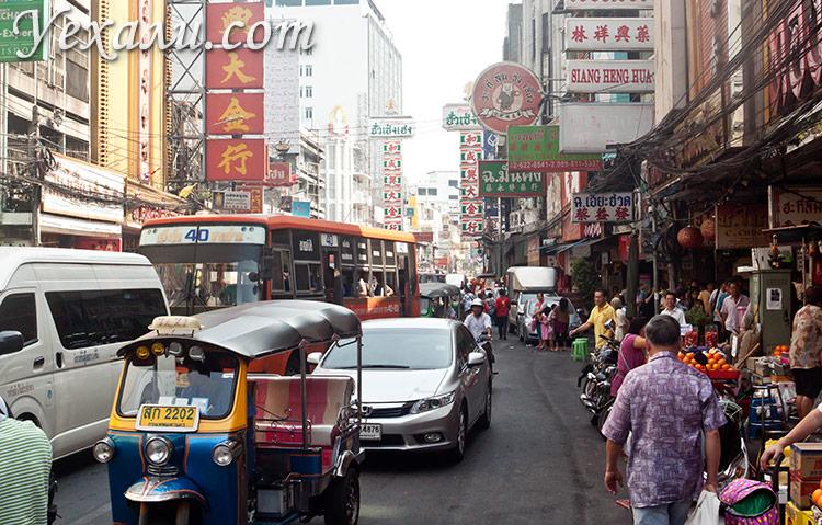Что посмотреть в Бангкоке: Чайнатаун