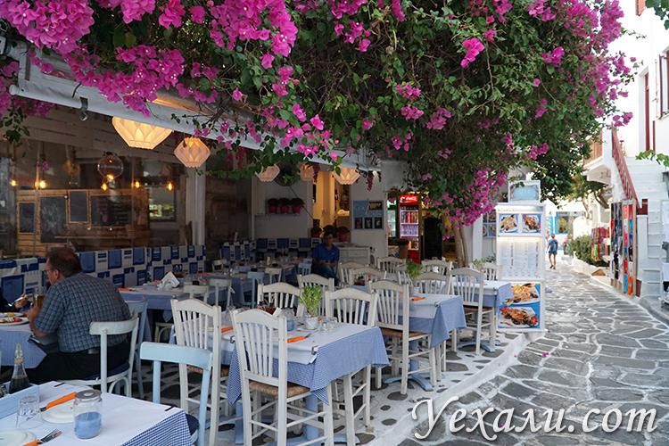 Отдых на Миконосе в Греци