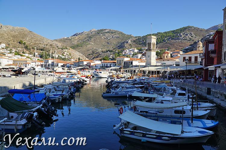 Фото острова Гидра в Греции