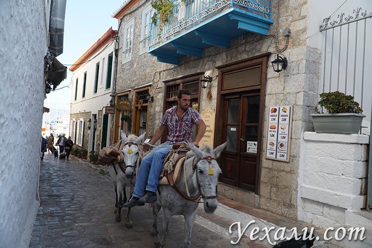 Остров Идра в Греции
