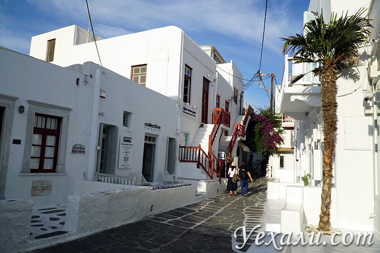 Фотоотчет с острова Миконос