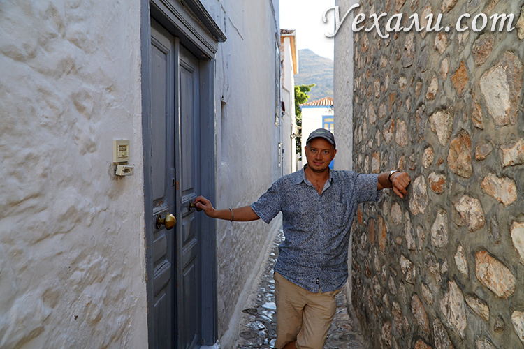 Фотоотчет с острова Гидра в Греции