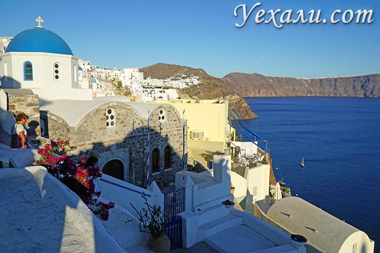 Лучшие фото острова Санторини (Греция).