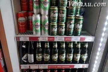 Путеводитель по Миконосу, Греция: цены на продукты в магазинах.