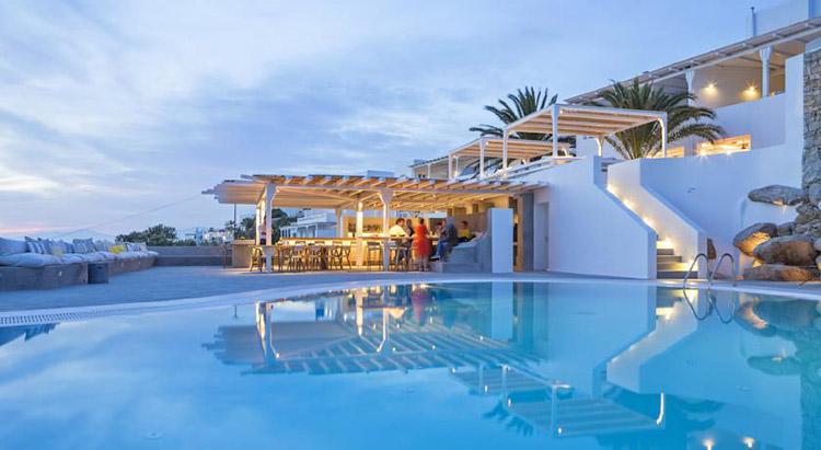 Лучшие отели острова Миконос 5 звезд: Boheme.