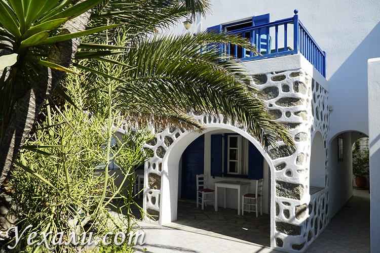 Отель на Миконосе с кухней