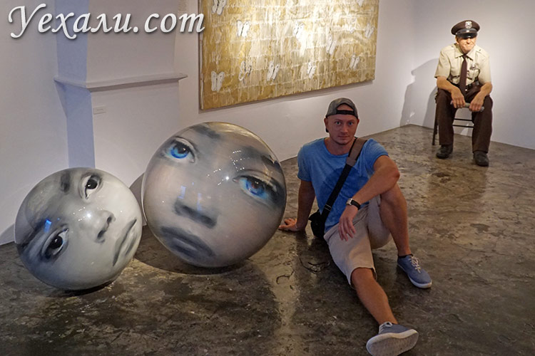 Что посмотреть на Миконосе, Греция: музей современного искусства Rarity Gallery.