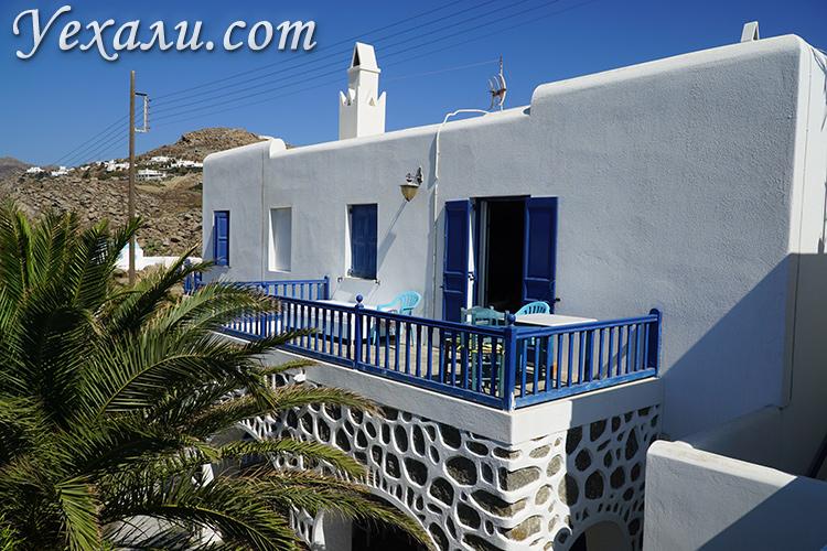 Лучшие отели острова Миконос в Греции по соотношению цены и качества: Casa Anna.