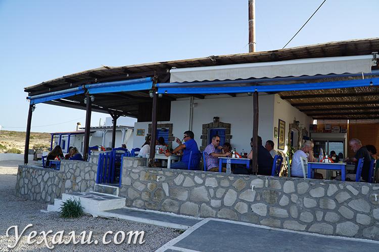 Фото кафе Медуза в Мандракии