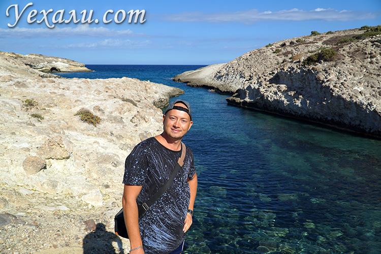 Все пляжи острова Милос, Греция: Капрос.