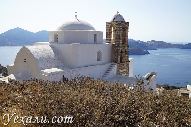 Самые интересные места острова Милос, столица Плака