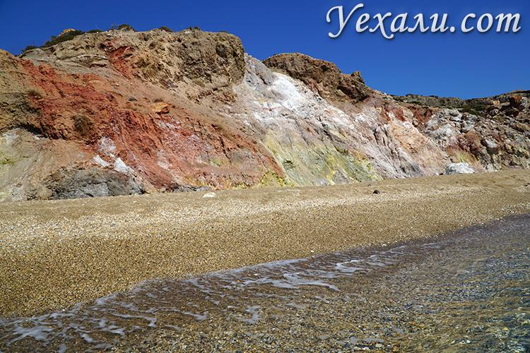 Фото пляжа Палиохори на Милосе
