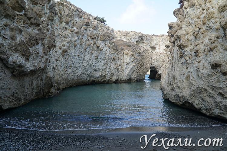 Фото пляжа Папафрагас на острове Милос