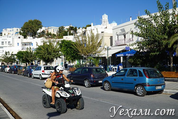 Аренда квадроциклов на острове Милос