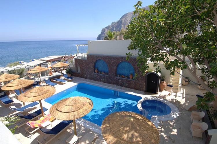 Пляжные отели Санторини, Греция: Elixir Studios.