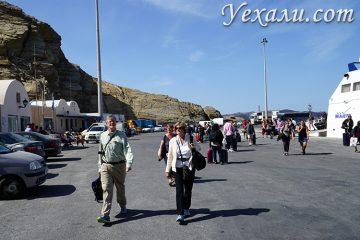 Как добраться до Санторини, Греция: Новый порт острова.