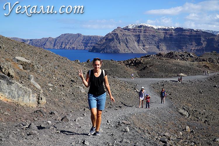 Отзыв на экскурсию на вулкан на Санторини
