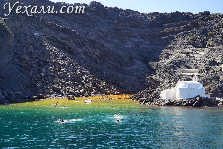 Остров Палеа Камени (Греция), фото.