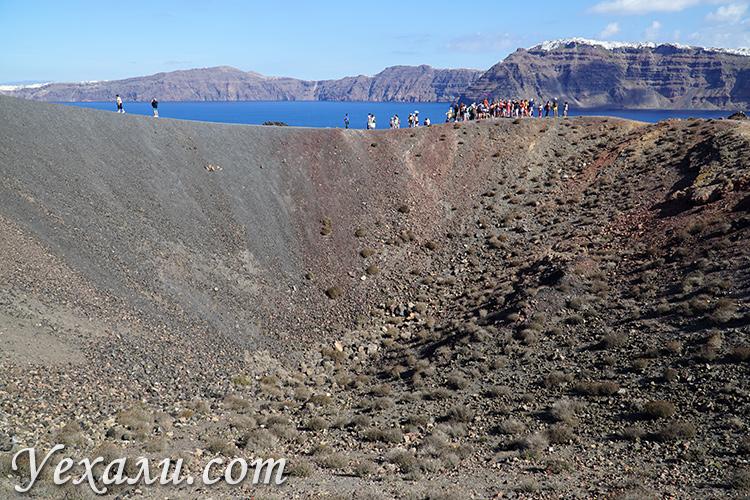 Отзывы и фото с экскурсии на вулкан Санторини