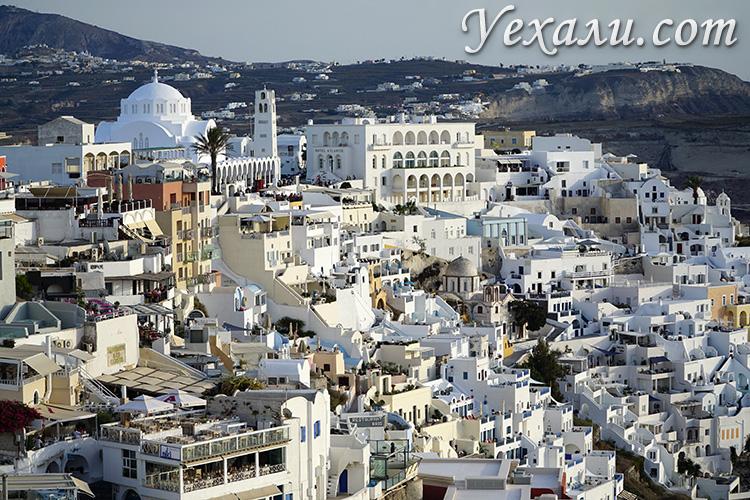 Самые красивые фото Фиры, Санторини, Греция.