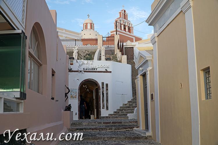 Лучшие фото Фиры, Санторини, Греция.