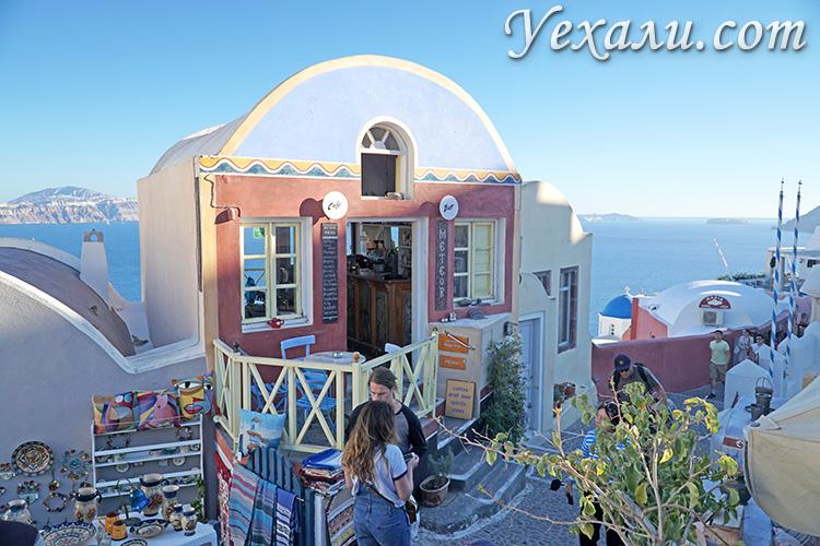 Лучшие фото острова Санторини в Греции: Ойя.