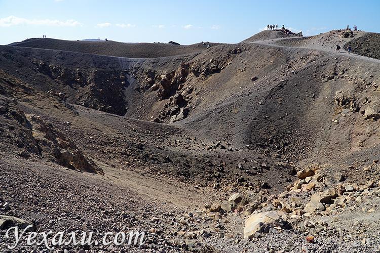 Вулкан Неа-Камени на Санторини
